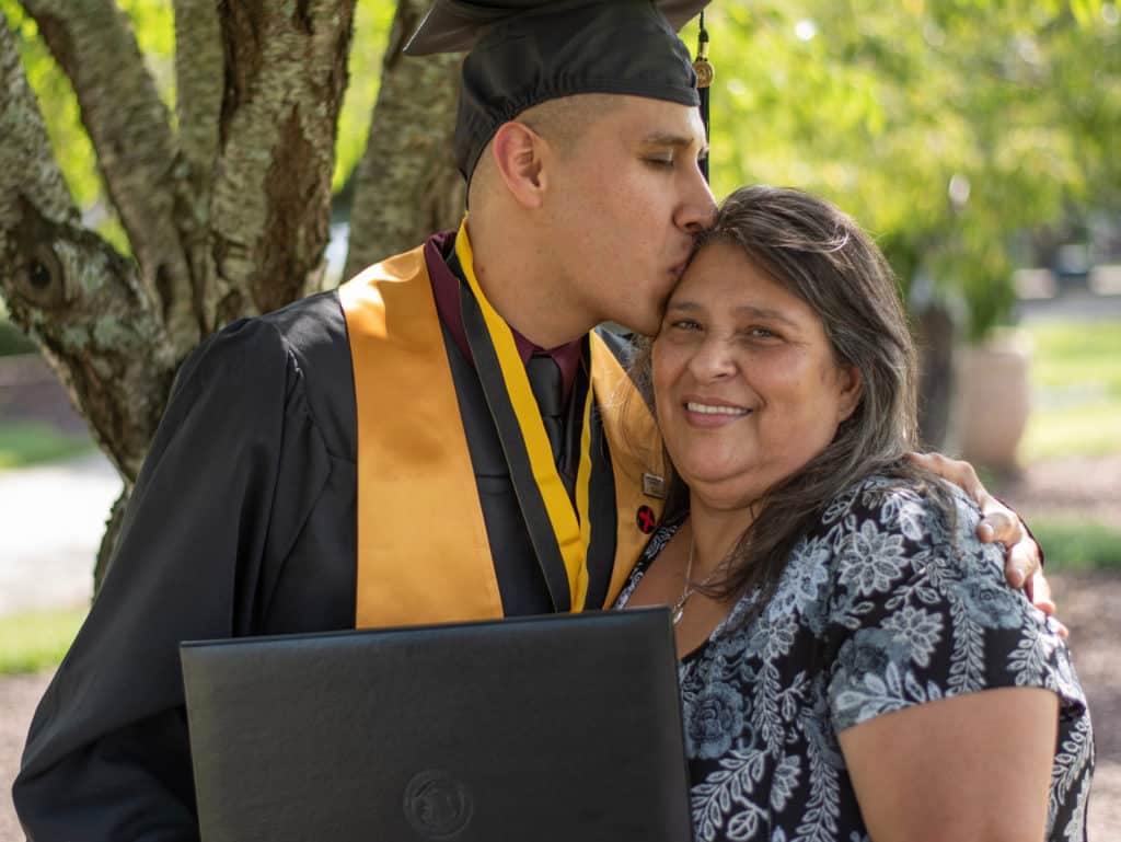 Mother who used a reverse mortgage to help her son graduate